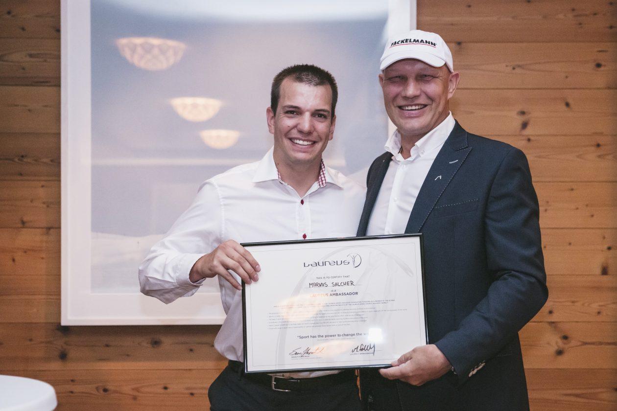Salcher neuer Laureus Sport for Good Botschafter