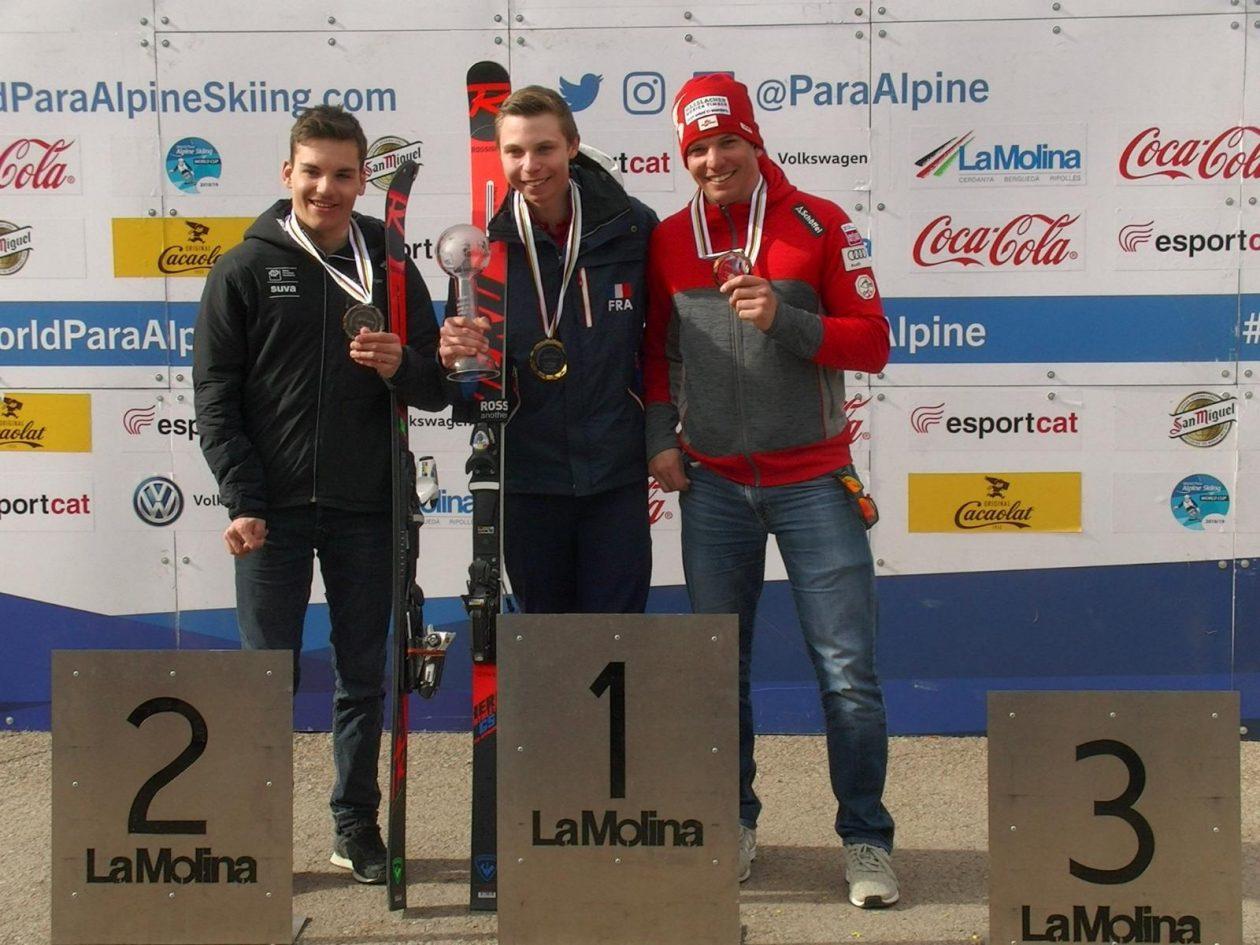 Salcher holte Platz drei in Riesentorlauf-Weltcupwertung