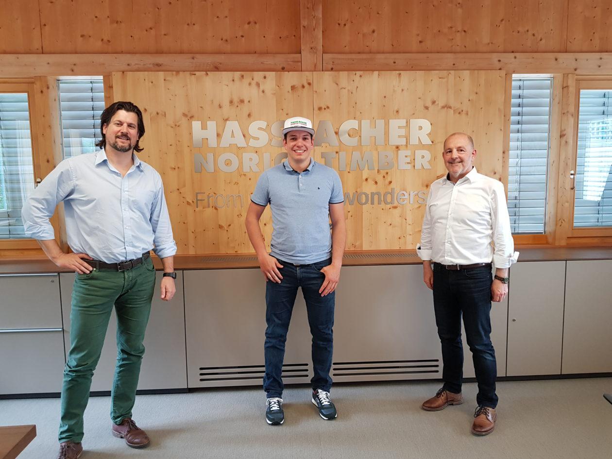 HASSLACHER Gruppe verlängert Kopfsponsoring von Paralympicssieger Salcher