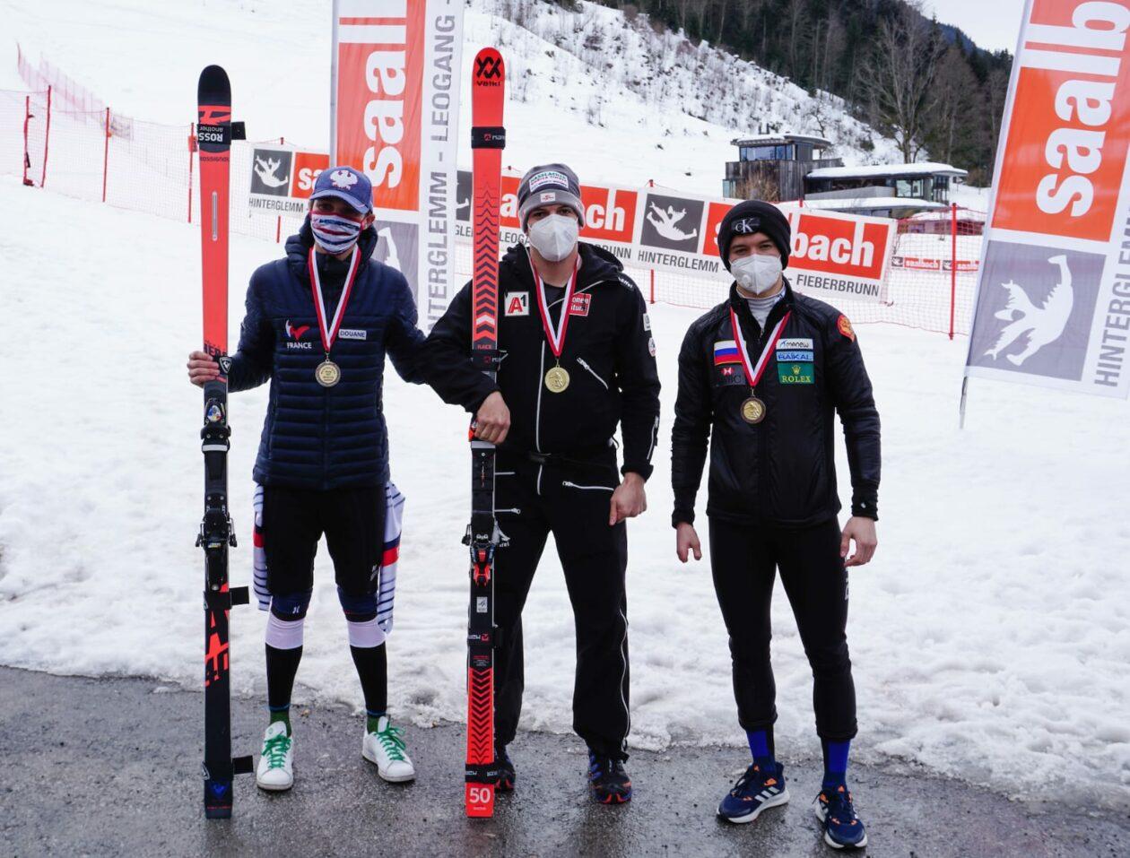 Erster Saisonsieg in Saalbach