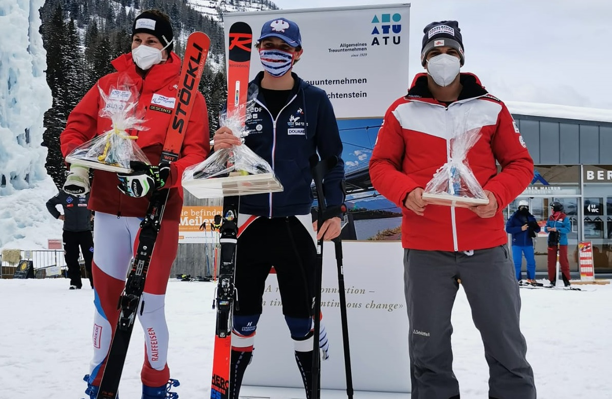 EC-Finale: Dritter im Riesentorlauf